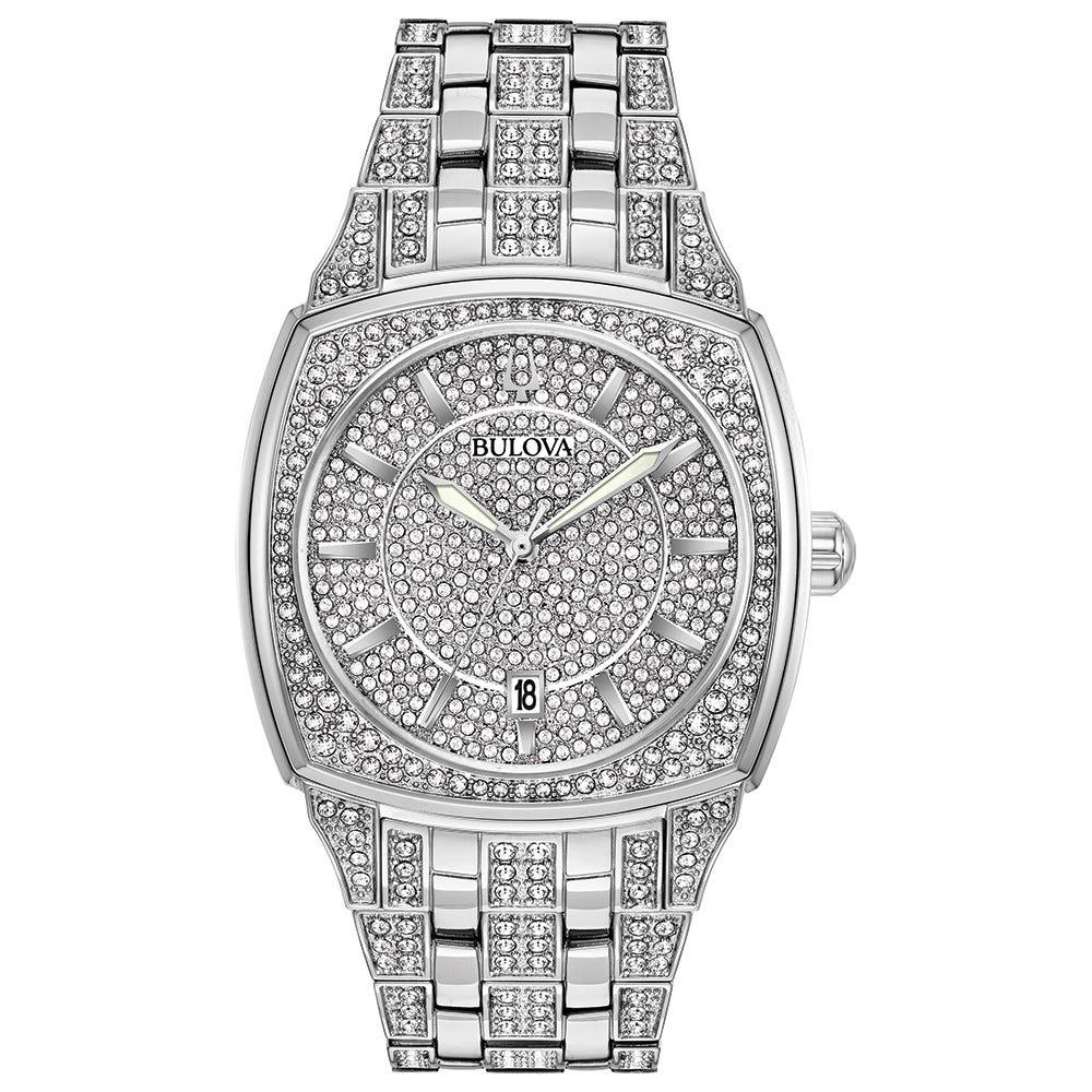 Bulova Phantom Crystal Men's Watch 96B296
