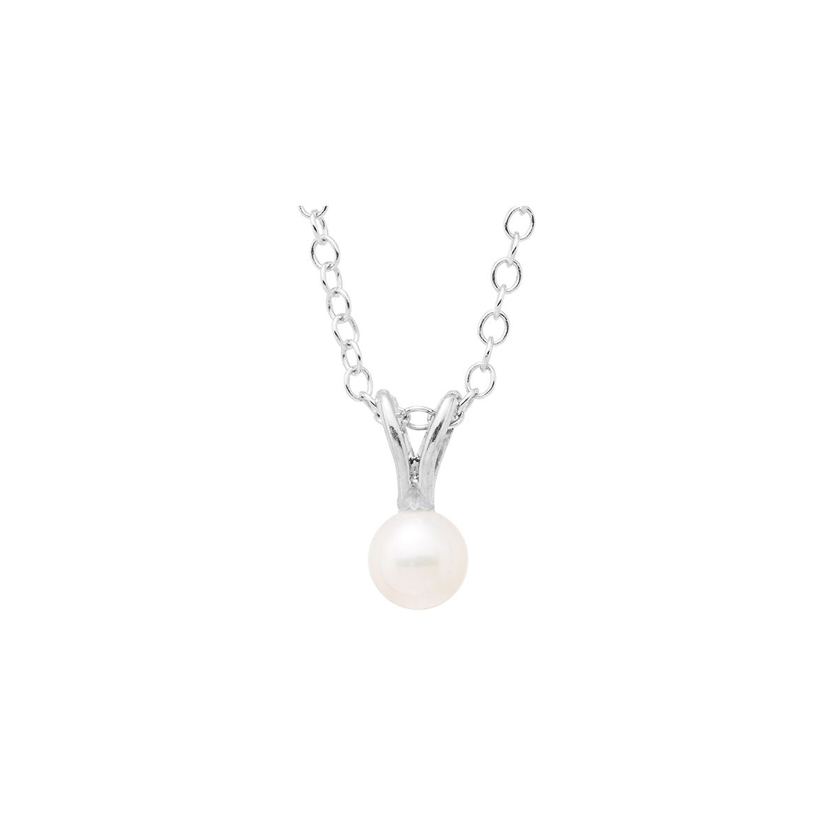 Baby & Children's Pearl Pendant in Sterling Silver