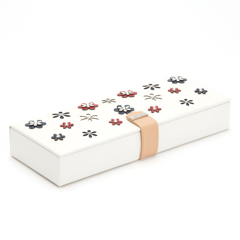Leather Blossom Safe Deposit Box