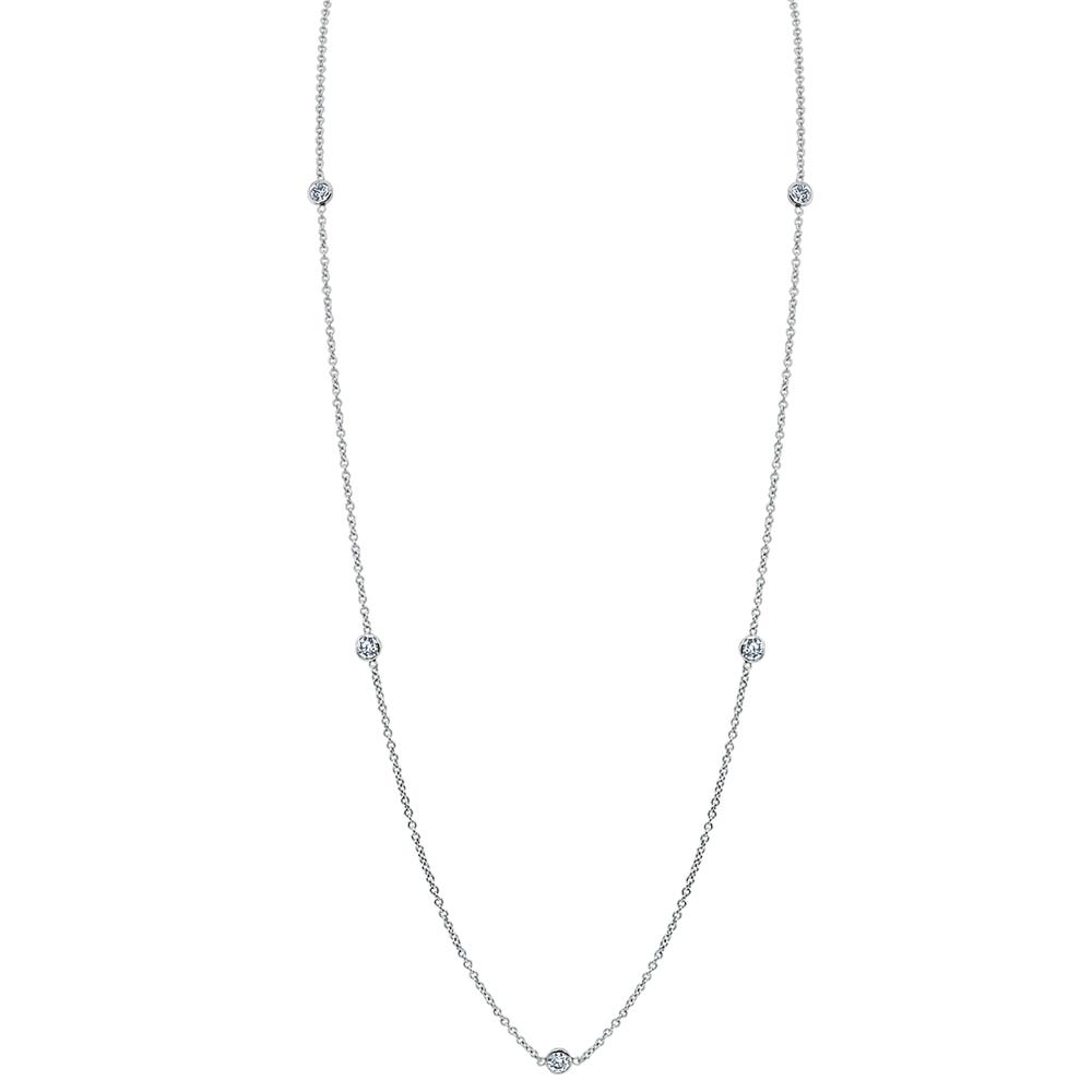 Diamond By The Yard 0.25ctw Necklace 18