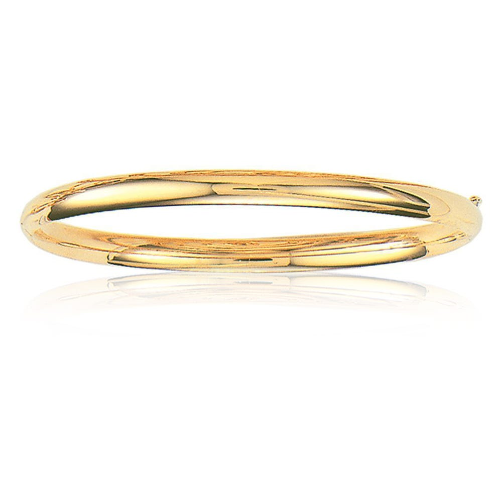 Classic Bangle 5mm in 14k Yellow Gold