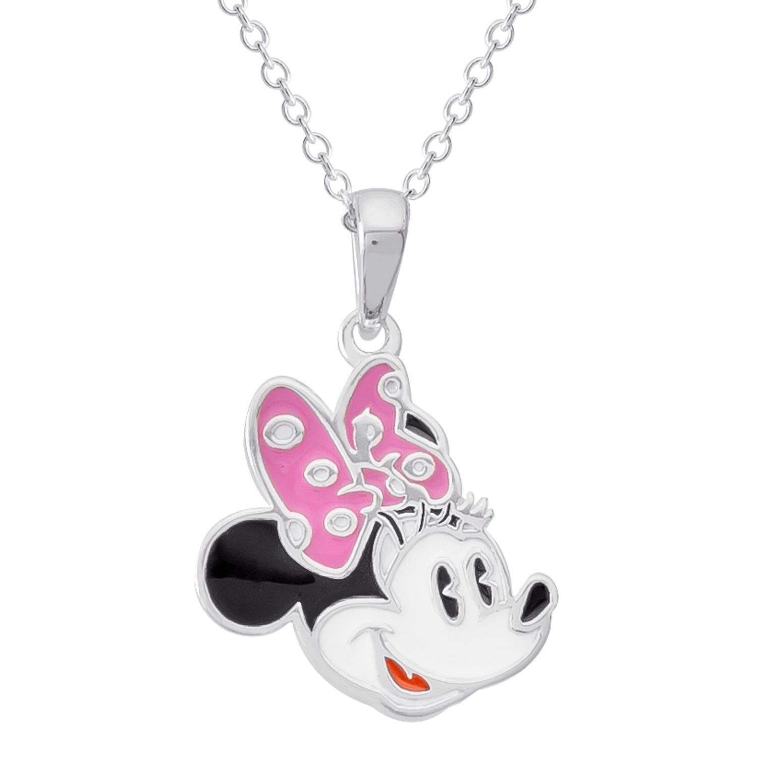 DISNEY© Minnie Mouse Pendant in Sterling Silver