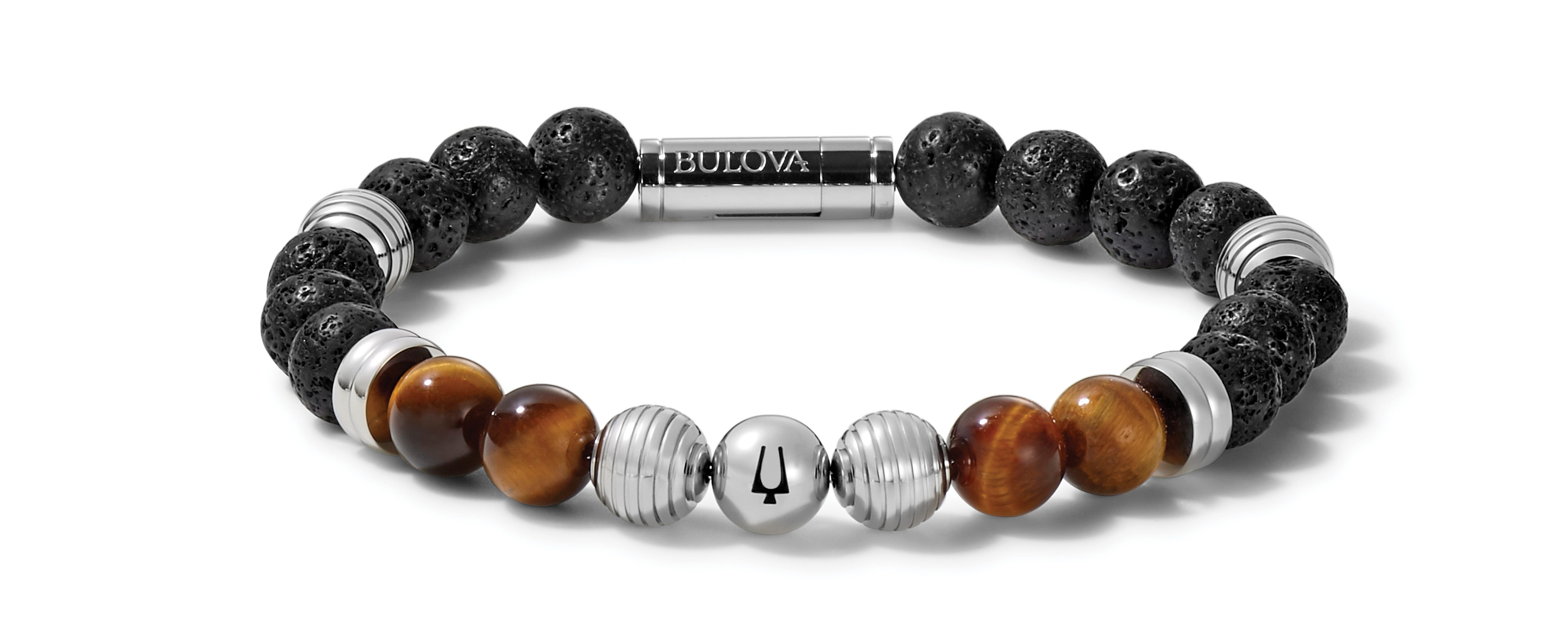 Bulova Classic Bead Bracelet J96B020L