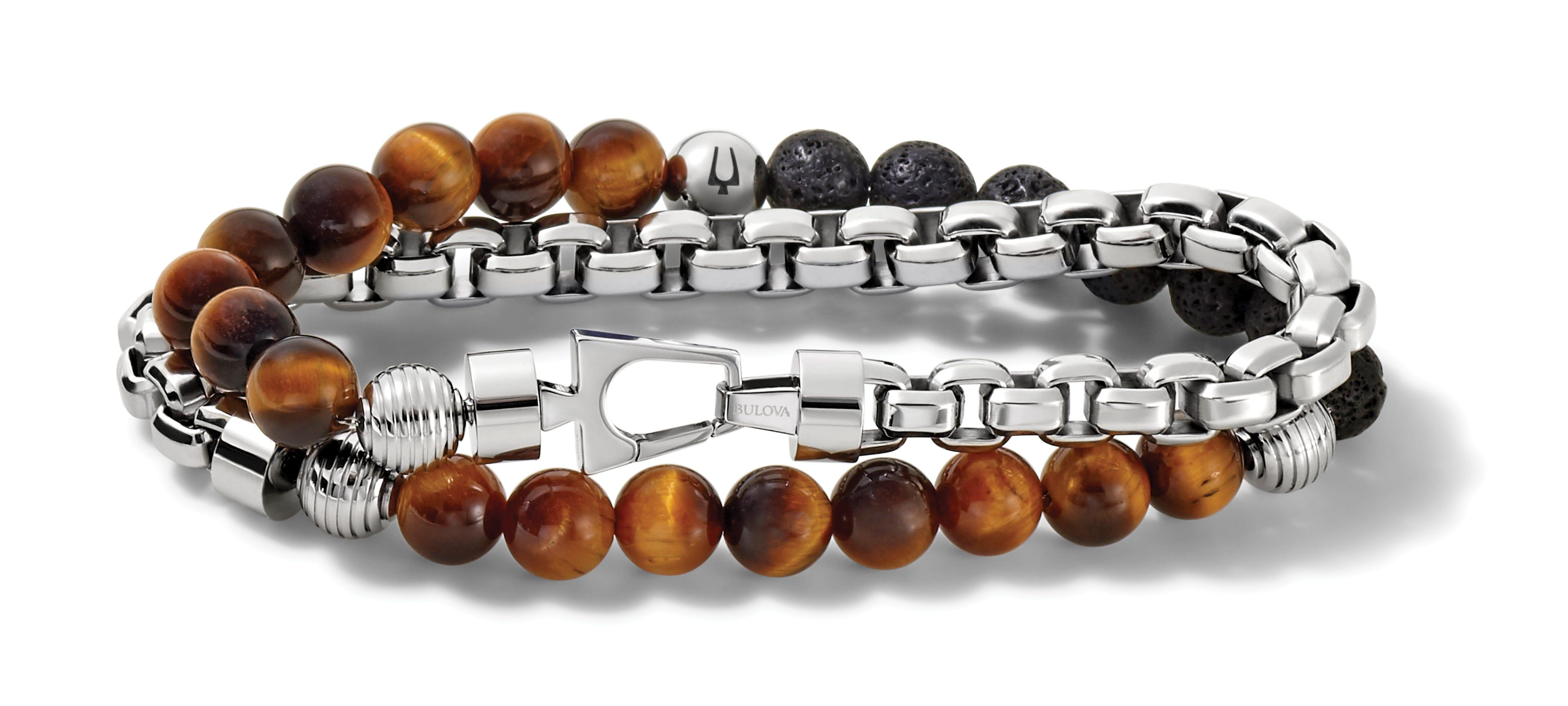 Bulova Classic Double Wrap Bracelet J96B023L