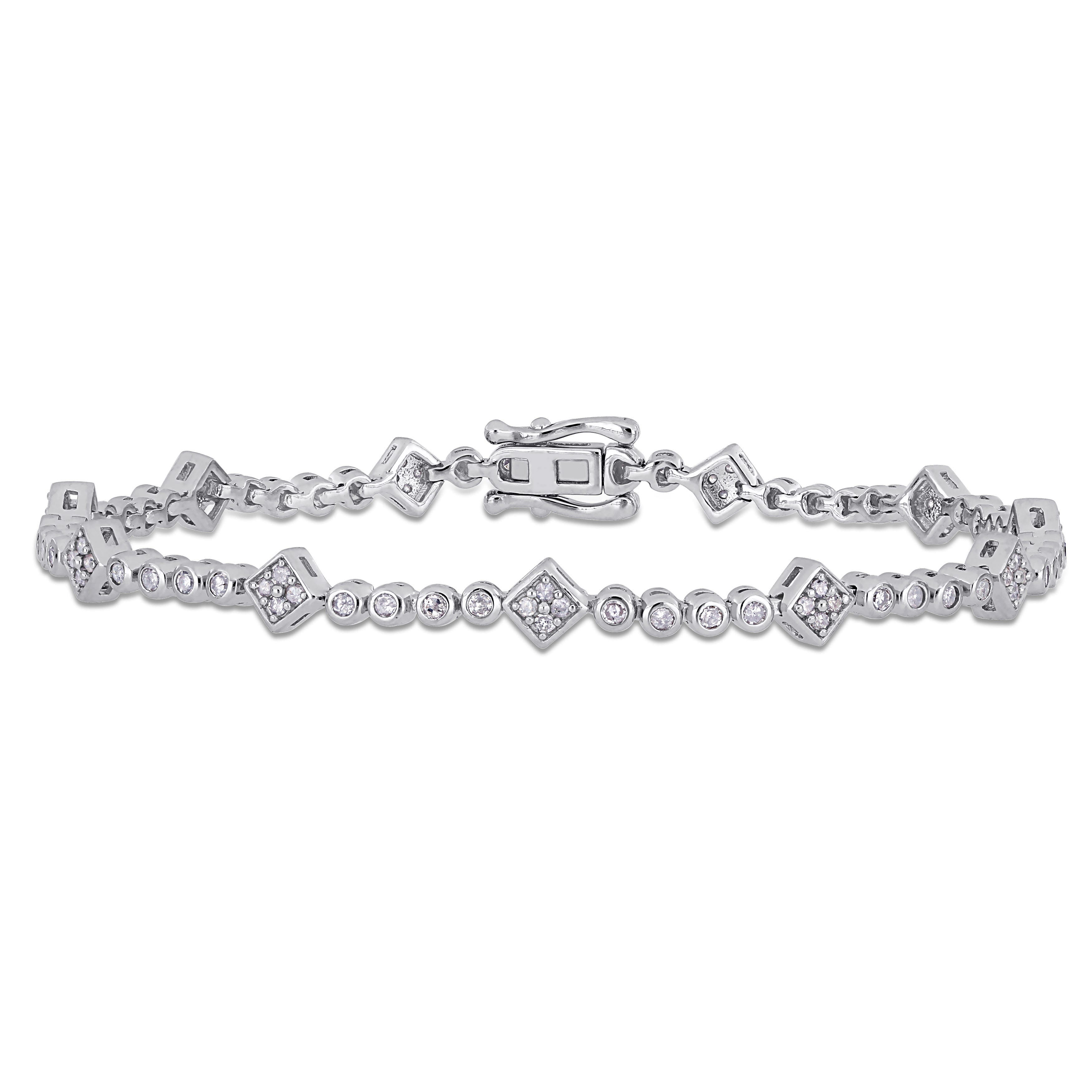 Tennis Bracelet 1ctw in Sterling Silver