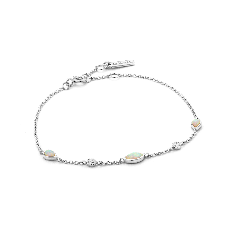 Opal Color Bracelet in Sterling Silver