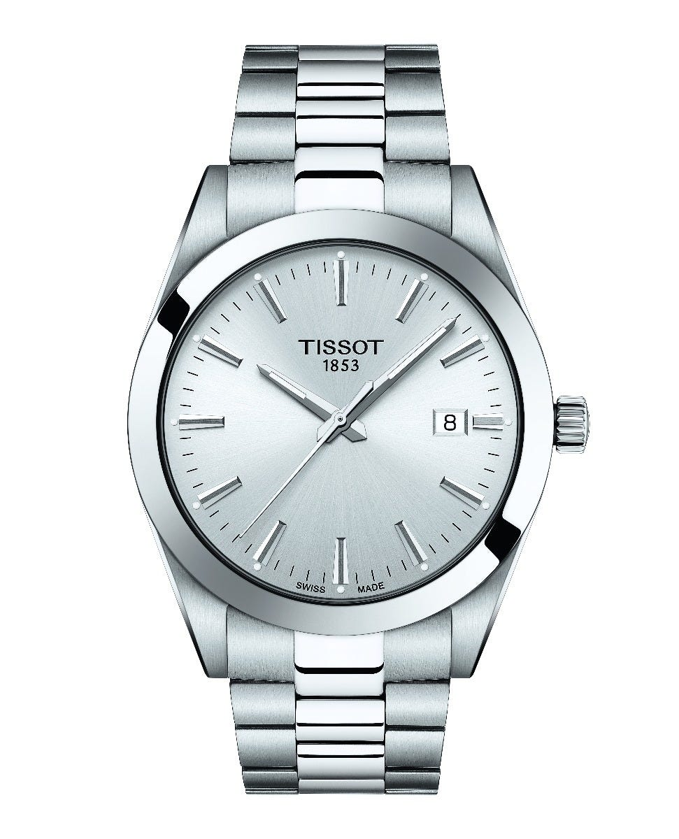 Tissot Gentleman Watch T1274101103100