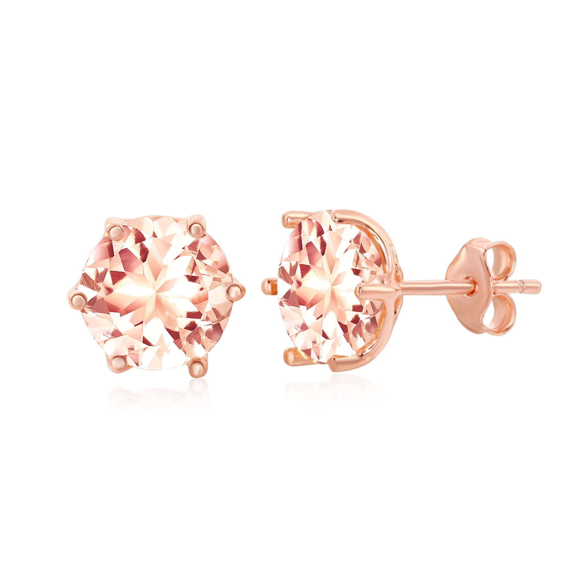 Brass with Pink Peace Charm with CZ On Pink Angelica Collection Bangle