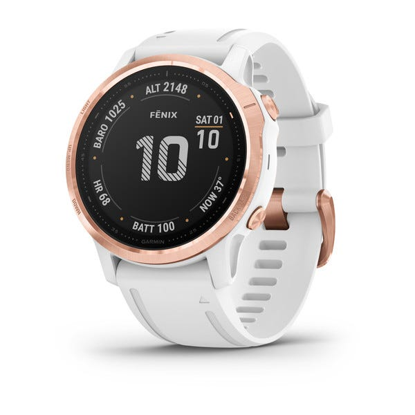 Garmin fēnix® 6S Rose Gold Watch 010-02159-10