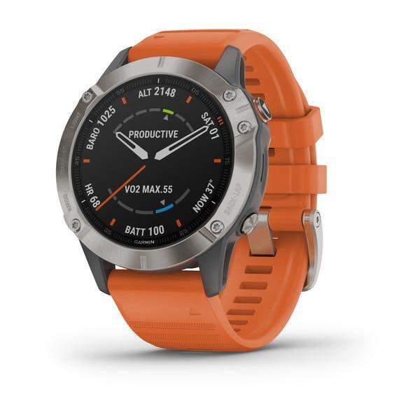 Garmin fēnix® 6 Titanium Watch 010-02158-13