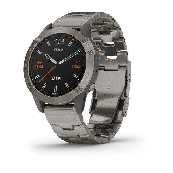 Garmin fēnix® 6 Titanium Watch 010-02158-22