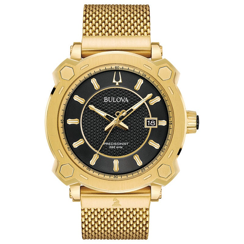 Bulova Men's Gold-Tone Grammy Watch 97B163