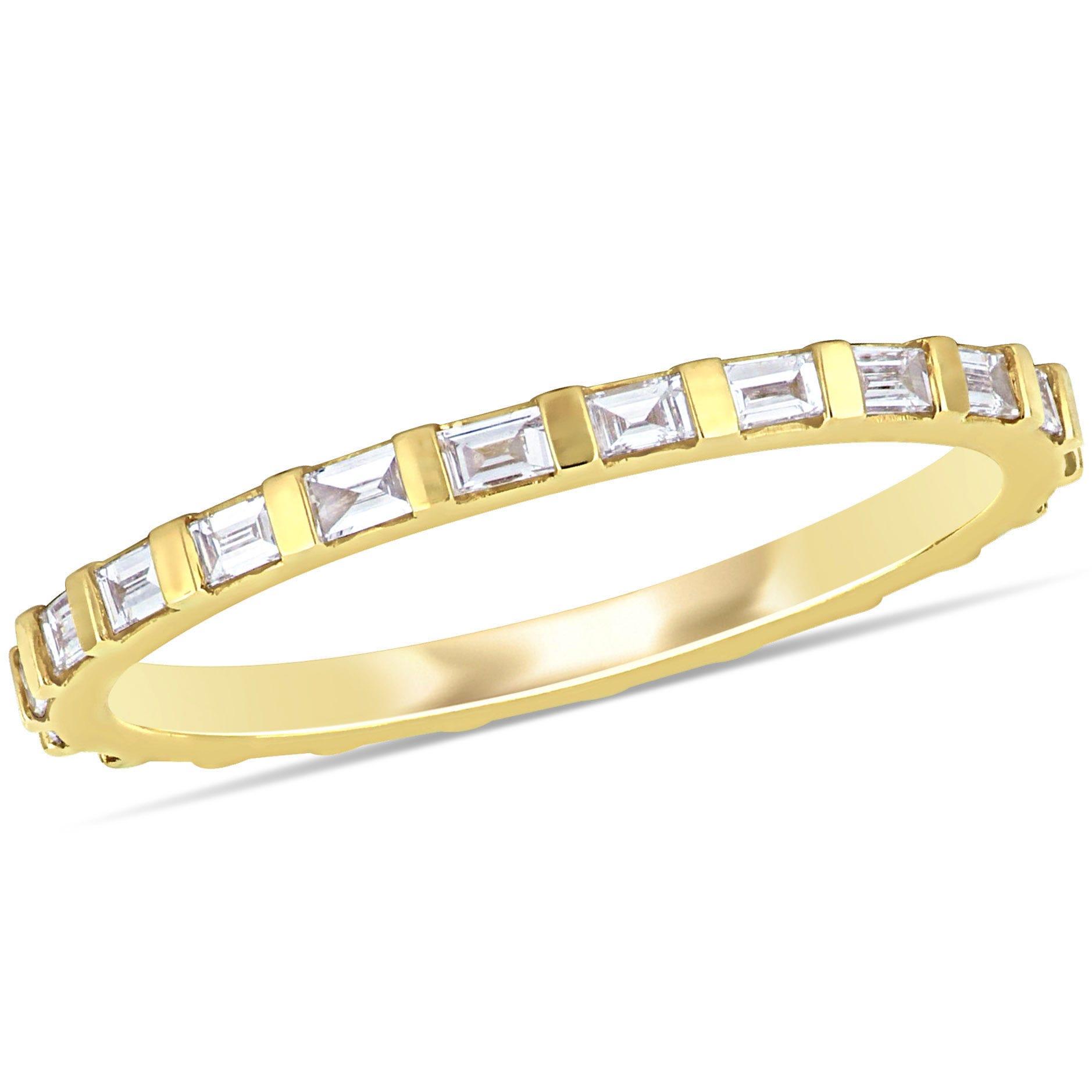 Diamond Eternity 1/3ctw. Band in 14k Yellow Gold