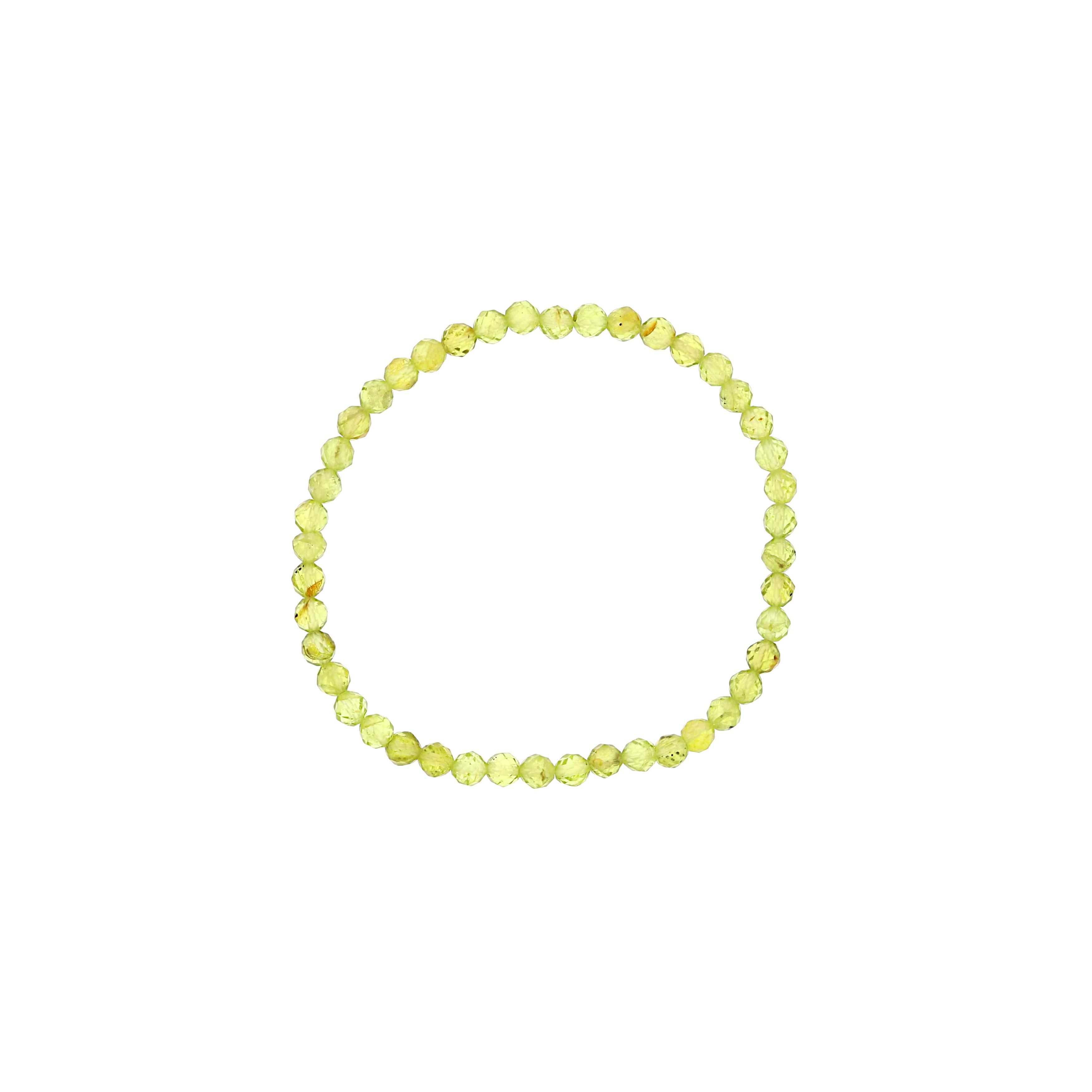 Peridot Beaded Bracelet