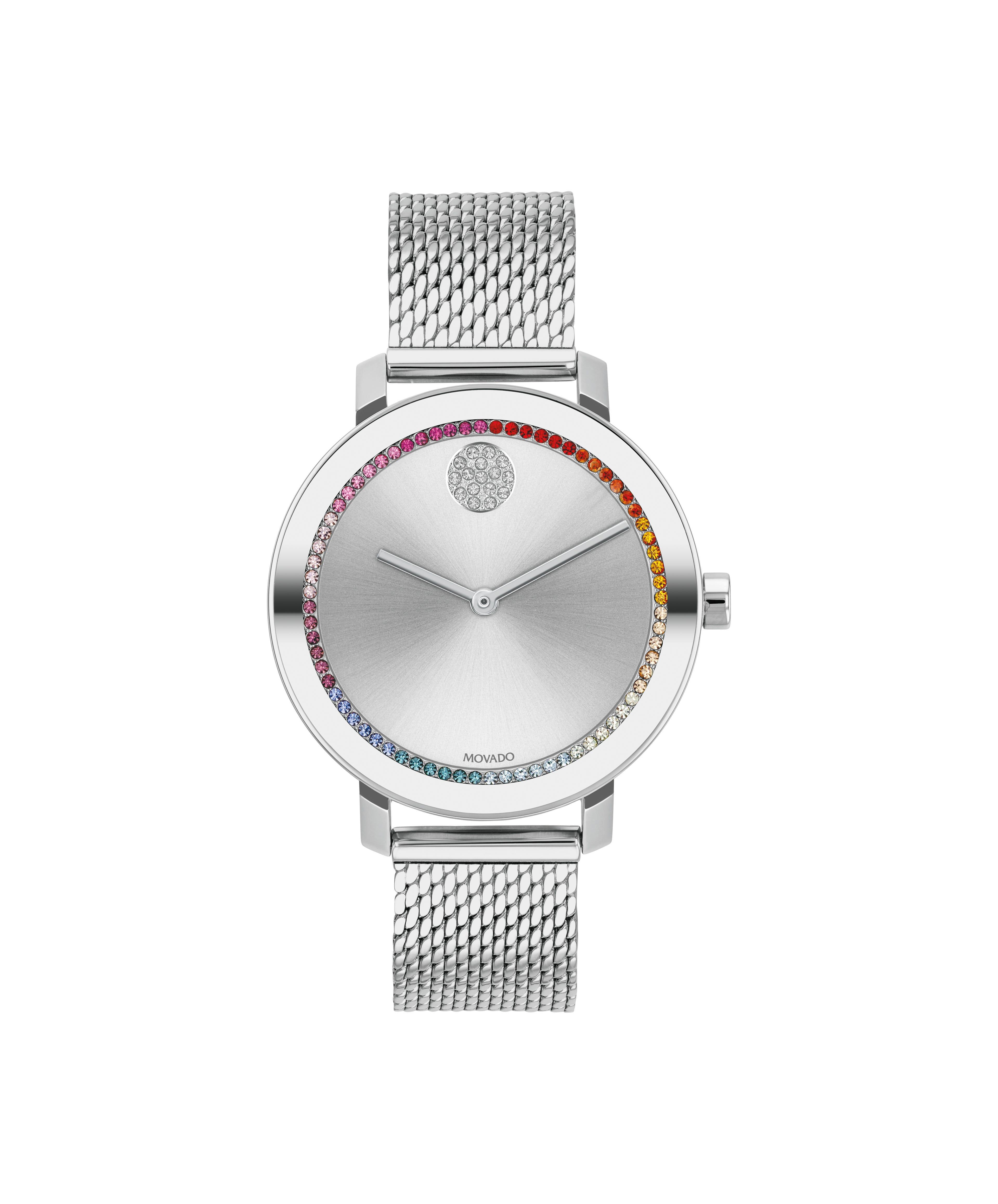 Movado Bold Ladies' Rainbow Crystal Evolution Watch 3600698