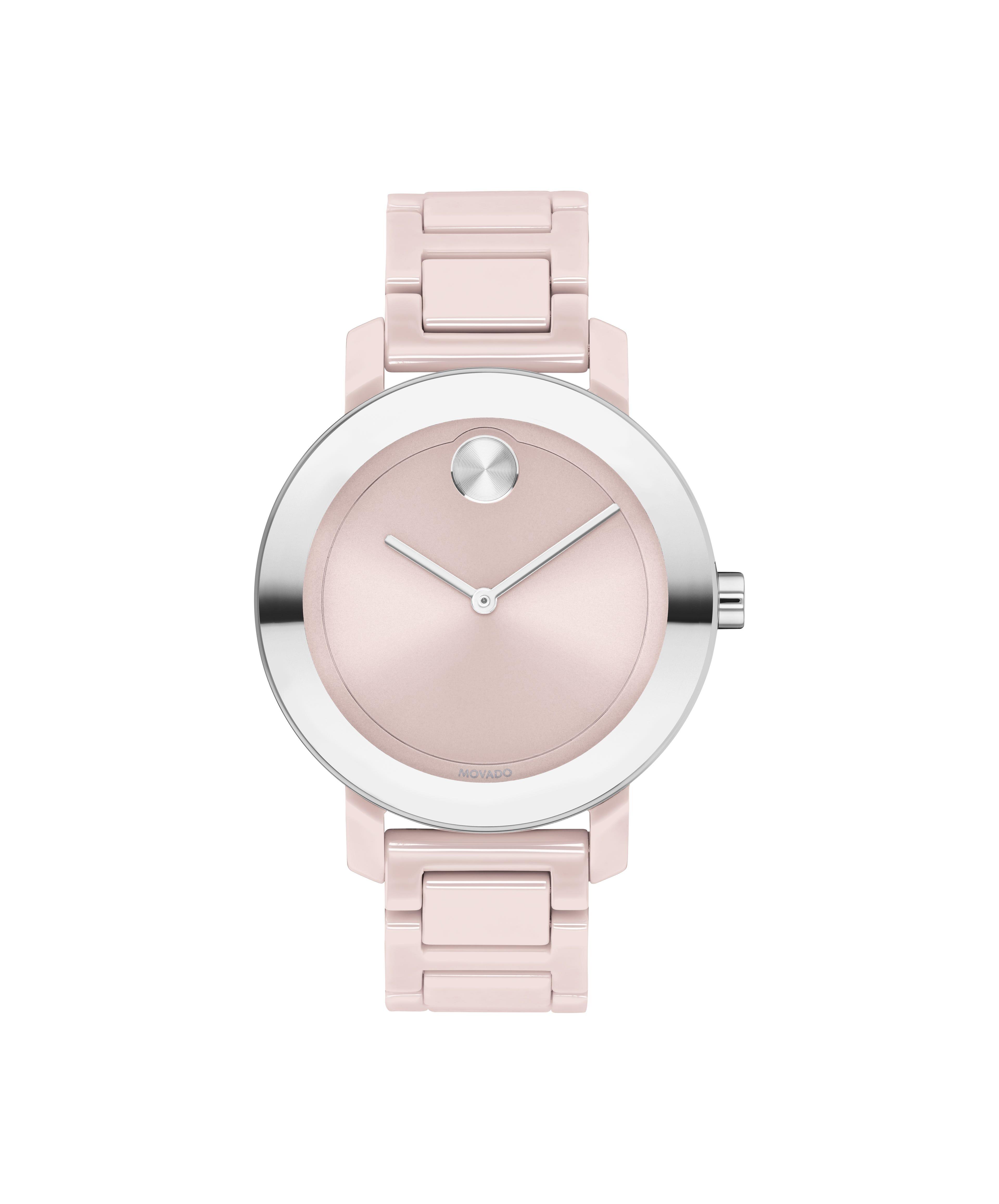 Movado BOLD Ladies' Pink Evolution Watch 3600709