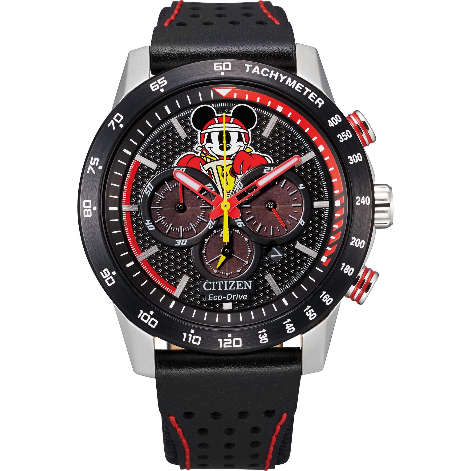 Citizen Men's Disney Mickey Racer Watch CA4439-07W