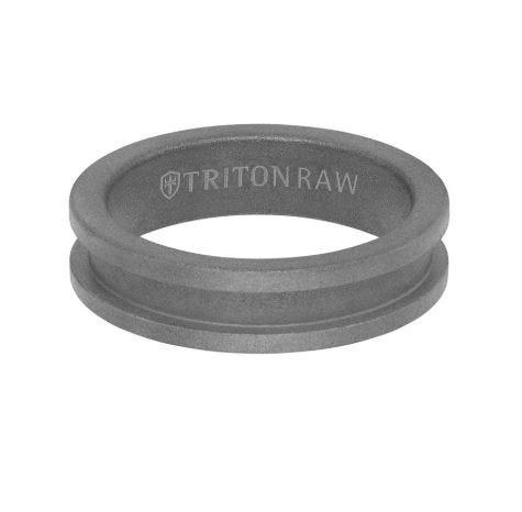 Triton Tungsten RAW 6MM Band