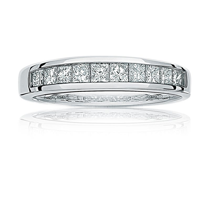 Diamond Princess-Cut Anniversary Band 1/2ct. T.W.