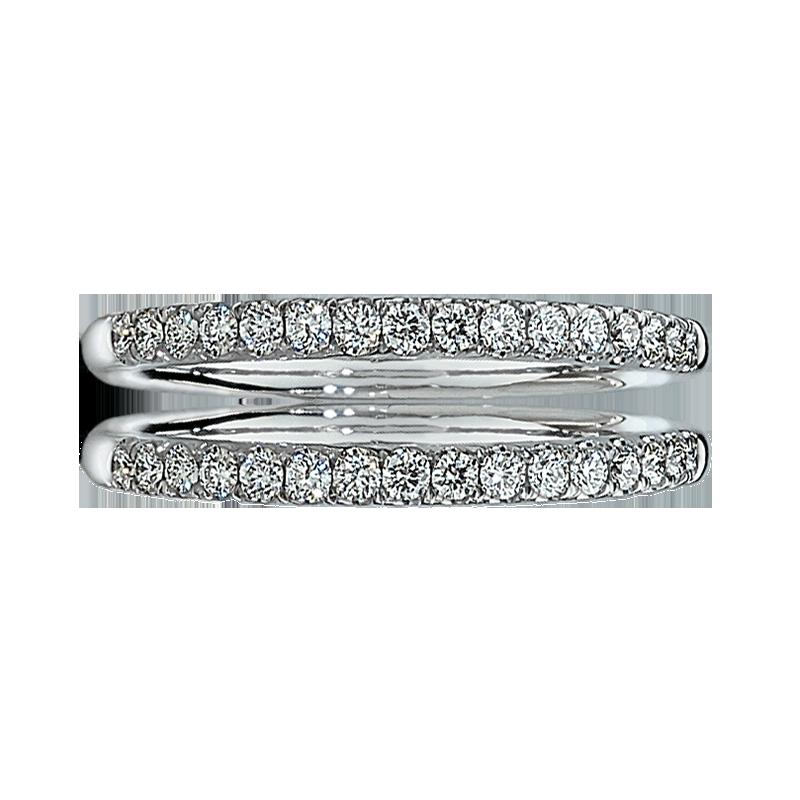 Diamond Wedding Band 1/5ctw. in 14k White Gold