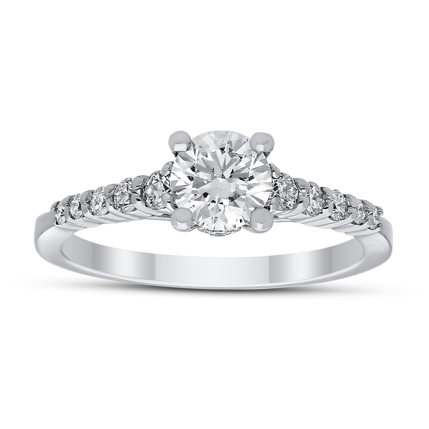 Lara. Lab-Crafted Diamond 1ctw. Engagement Ring