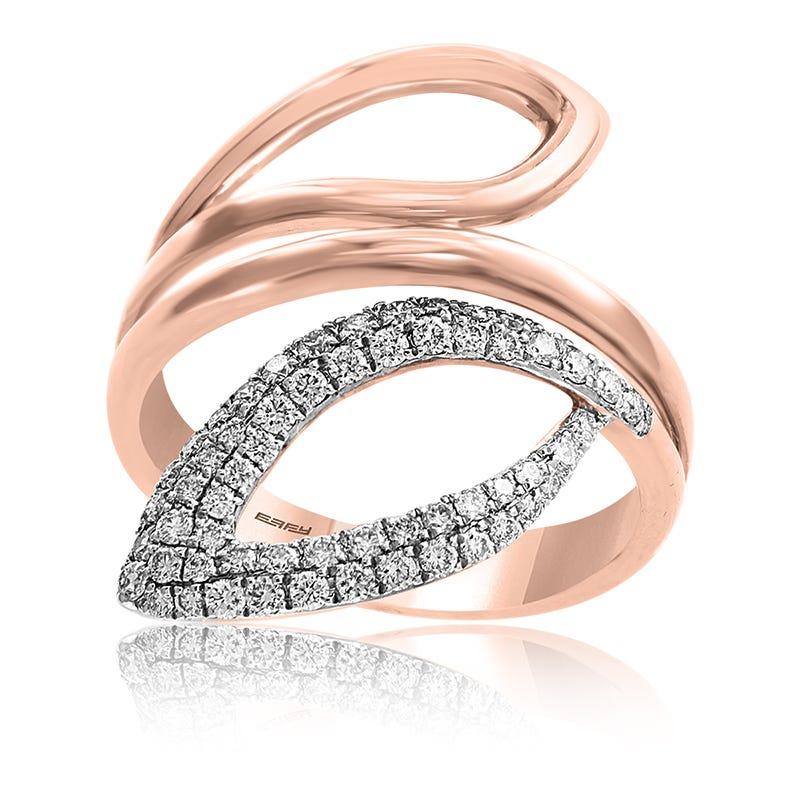 EFFY Diamond Open Bypass Fashion Ring