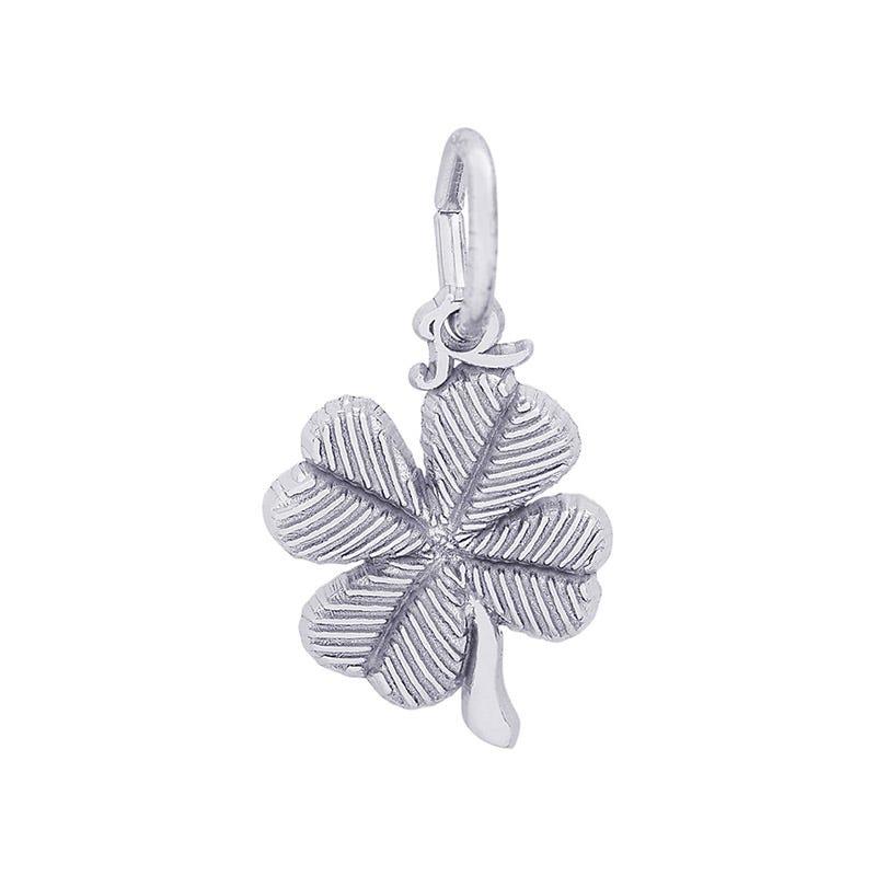 4 Leaf Clover Sterling Silver Charm
