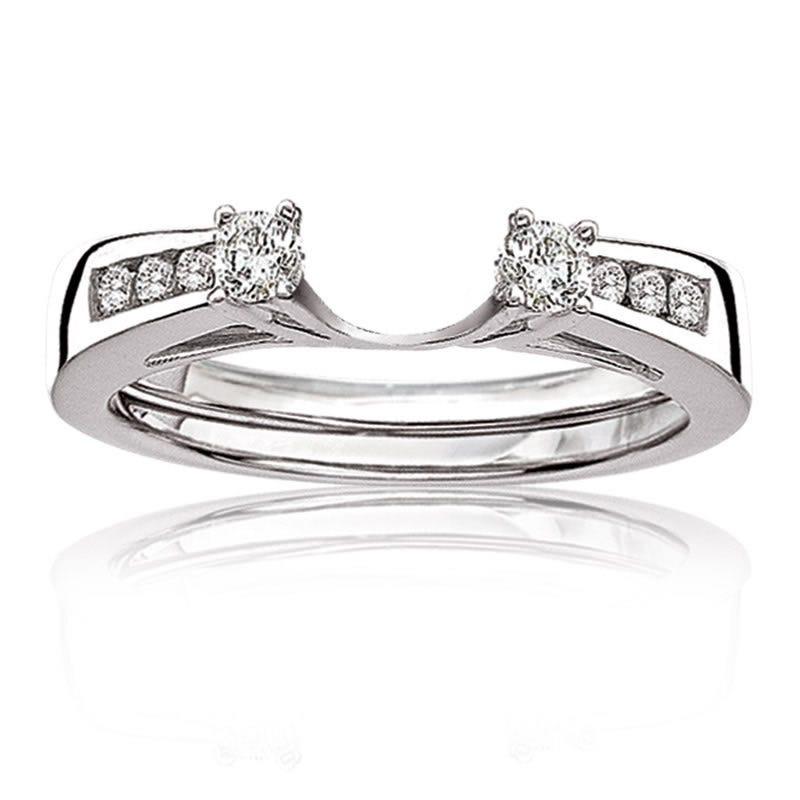 Diamond Ring Wrap ¼ct. tw. in 14k White Gold