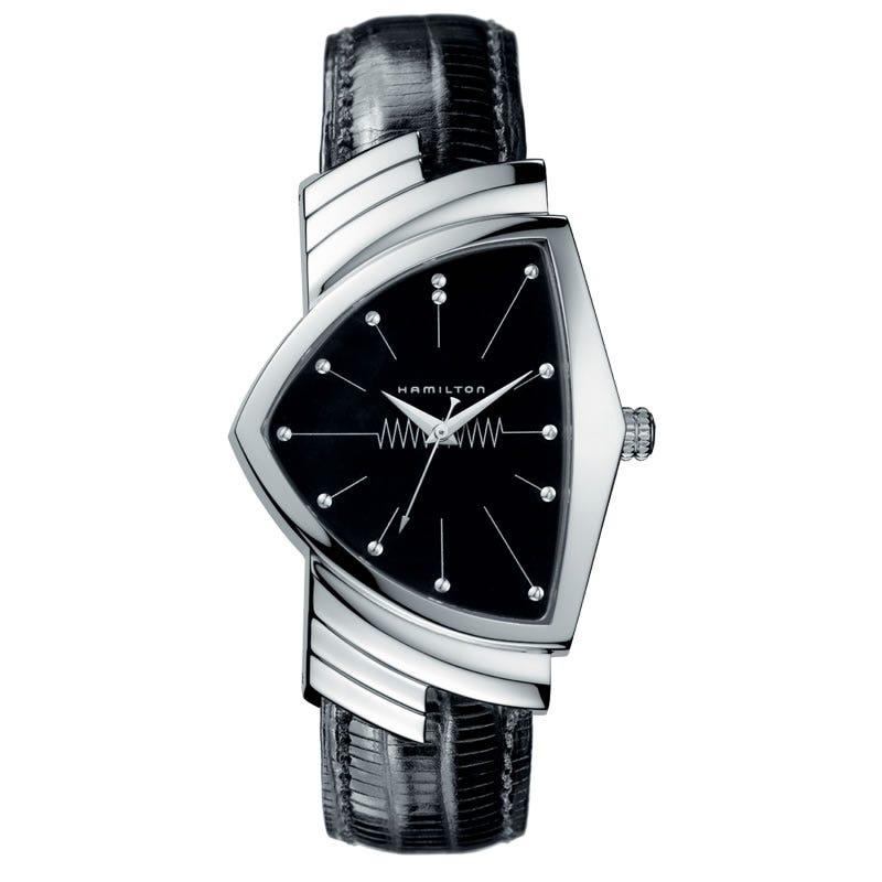 Hamilton Ventura Quartz Black Dial Watch H24411732