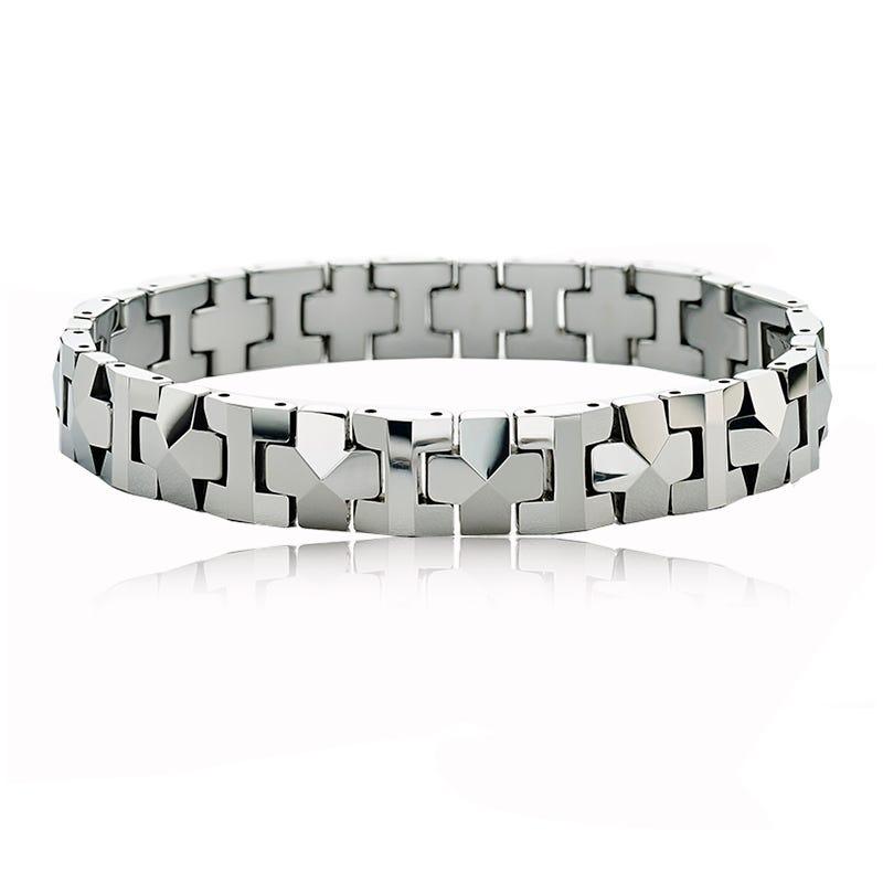 Men's Tungsten Link Bracelet