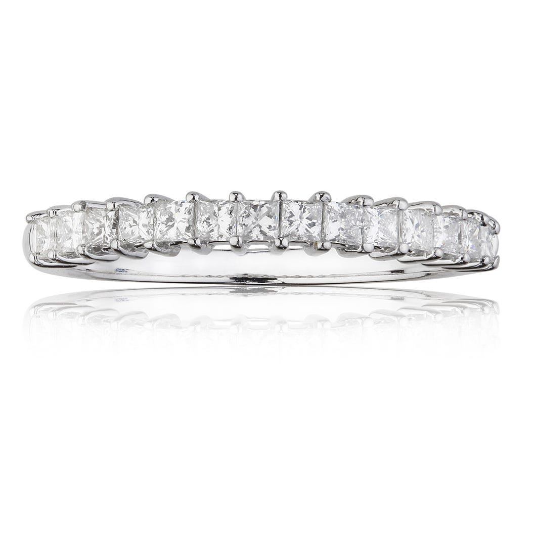 1/3ct. t.w. Diamond Wedding Band 14k White Gold