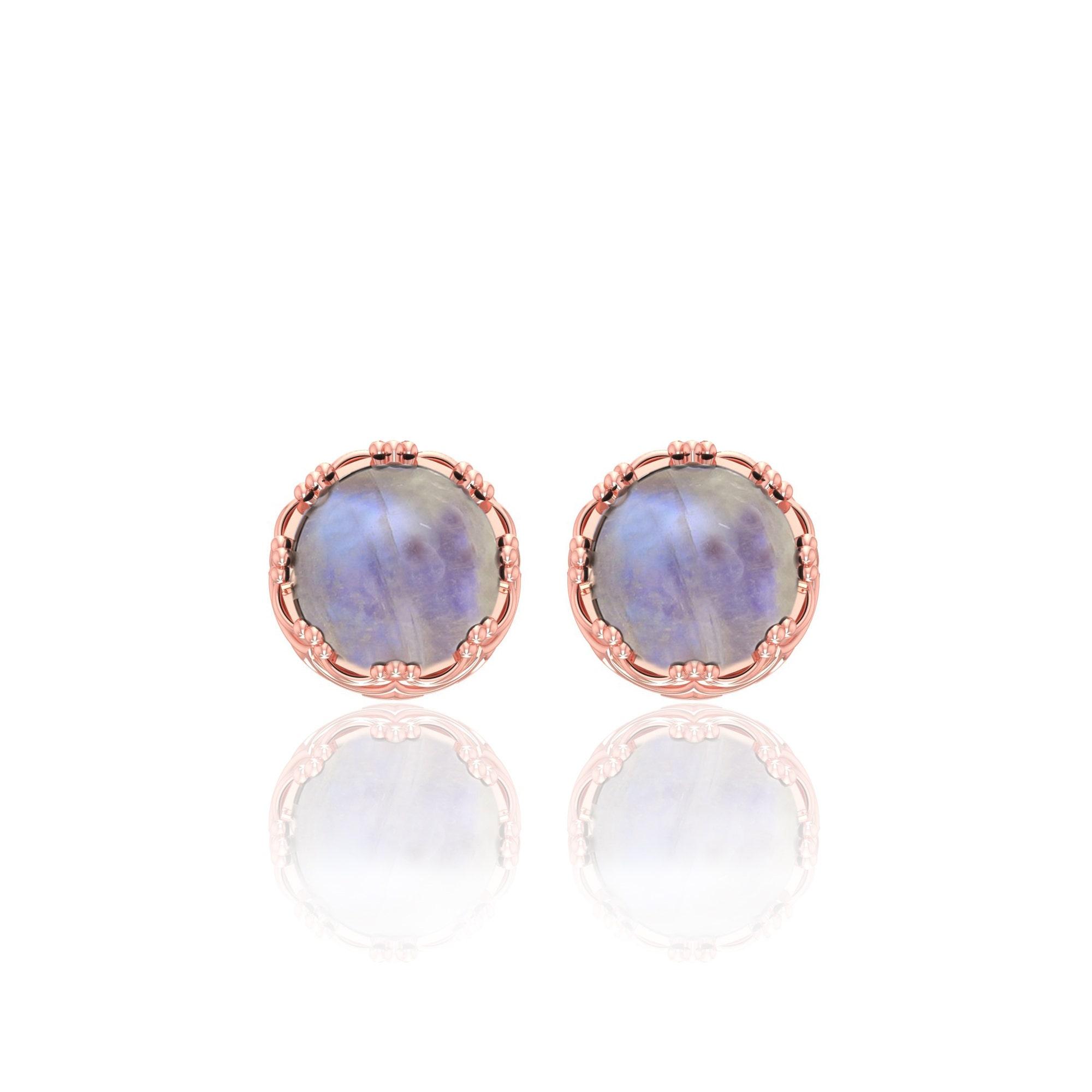 Moonstone Gemstone Earring