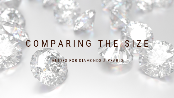 How Will It Look: Diamond Carat & Pearl Size Charts
