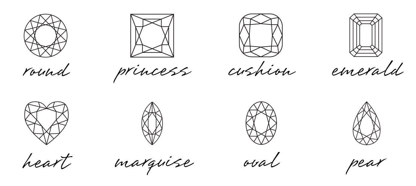 Top 7 Diamond Shapes & What They Say About You