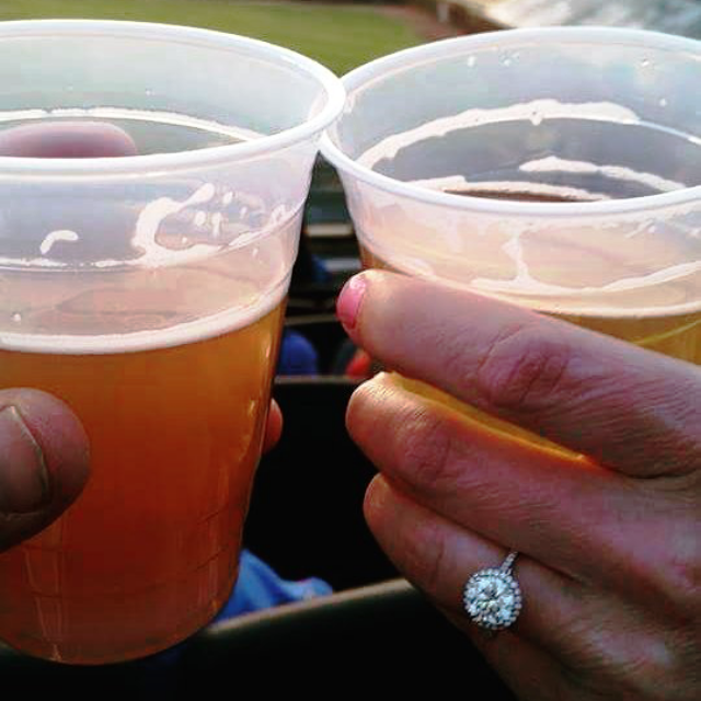 ring and beer