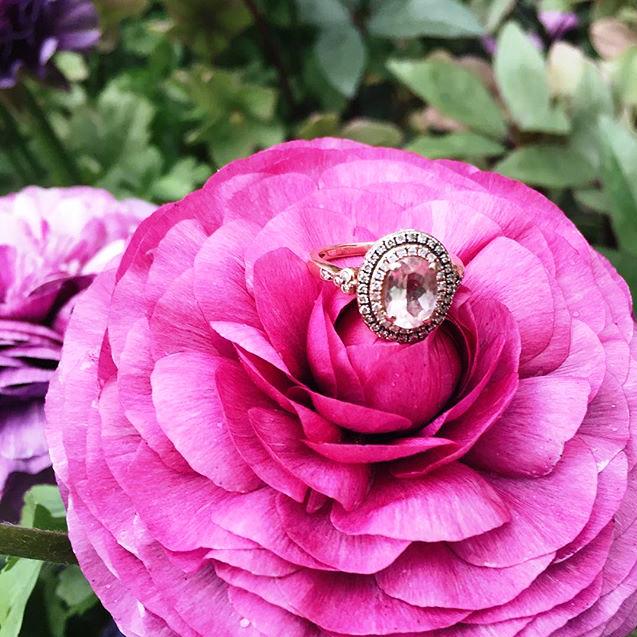 ring on flower