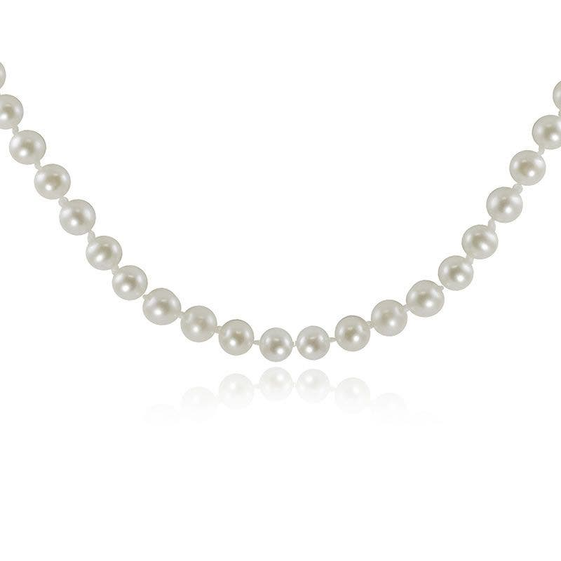 """Freshwater Pearl Strand Necklace 18"""""""