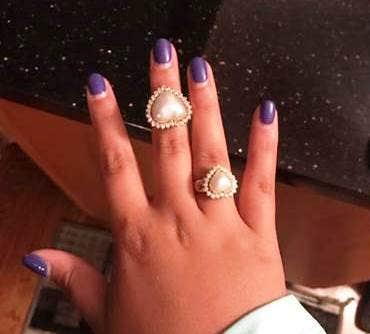 original ring & replica