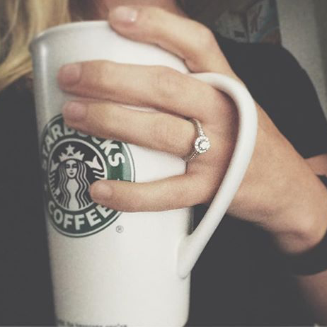 ring and coffee