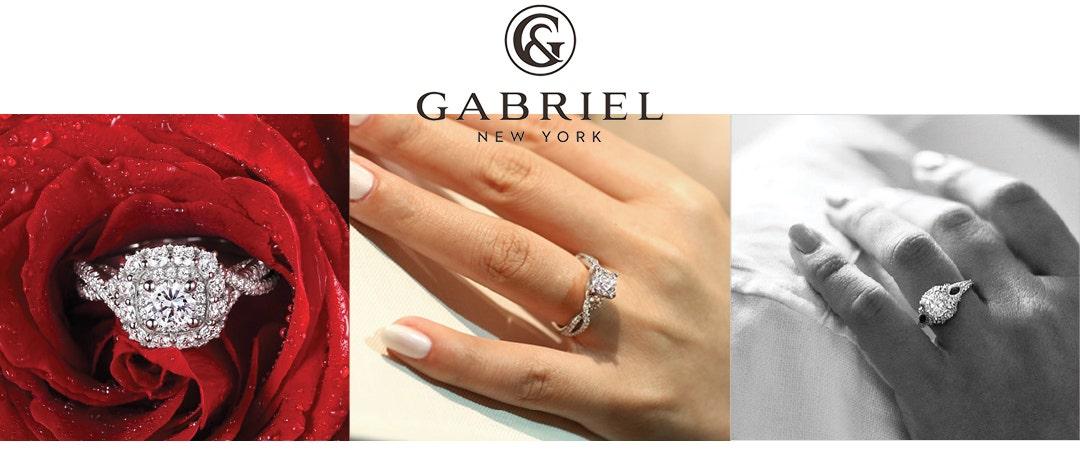 GABRIEL NY ENGAGEMENT RINGS