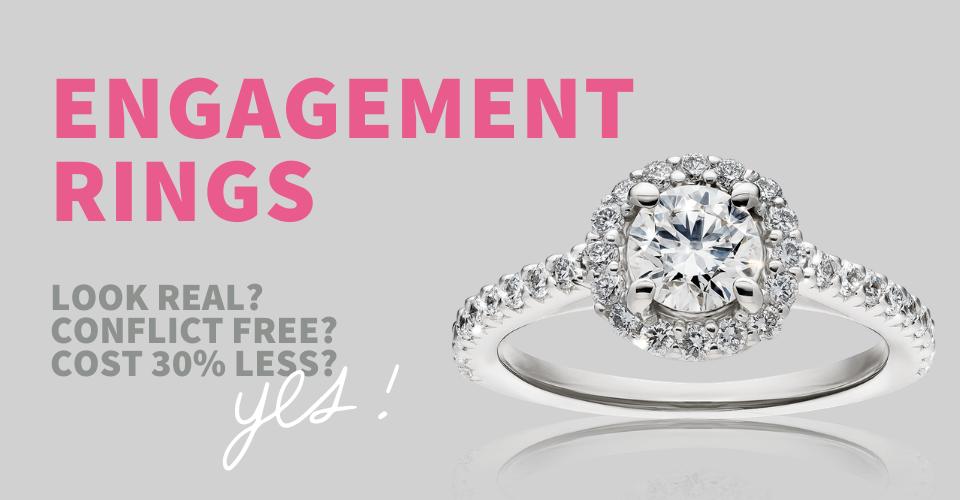Shop Lab Grown Diamond Engagement Rings