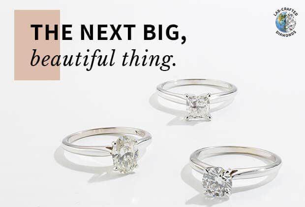 Shop Lab-Crafted Engagement Rings