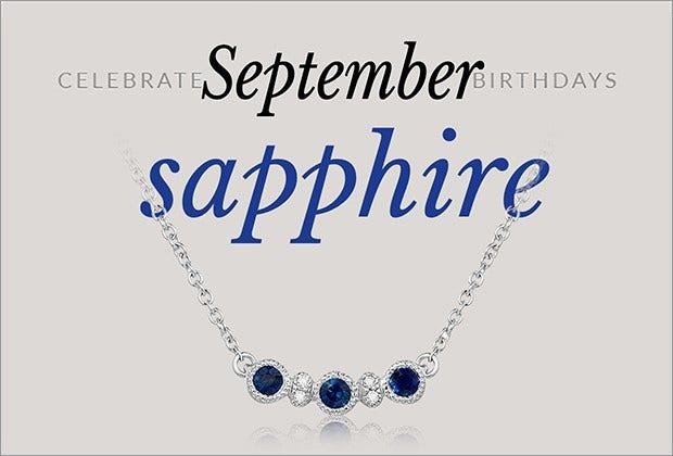 30% OFF: September Birthstone Sale
