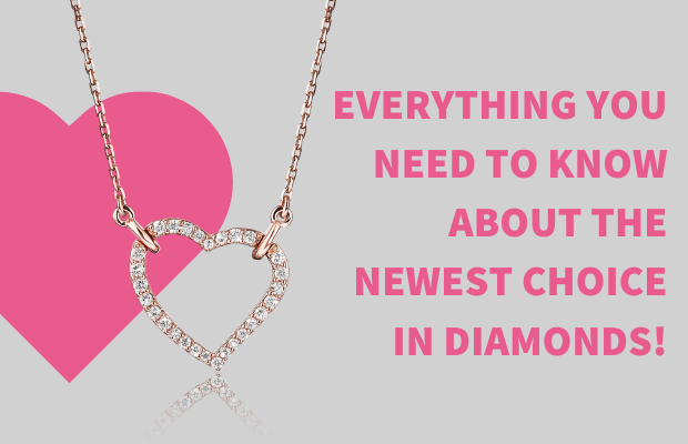 Lab Grown Diamond Necklaces