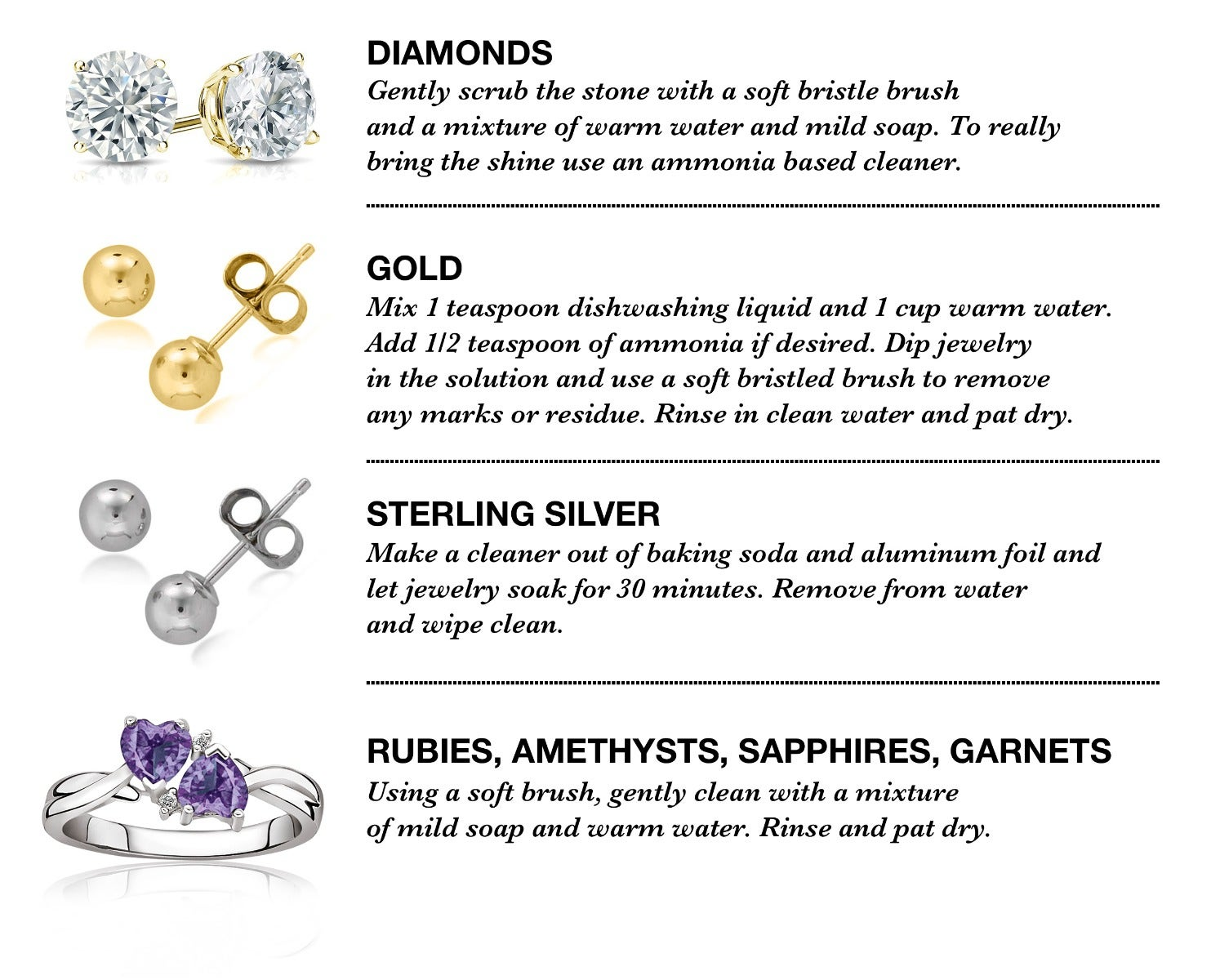How To Clean Your Jewelry