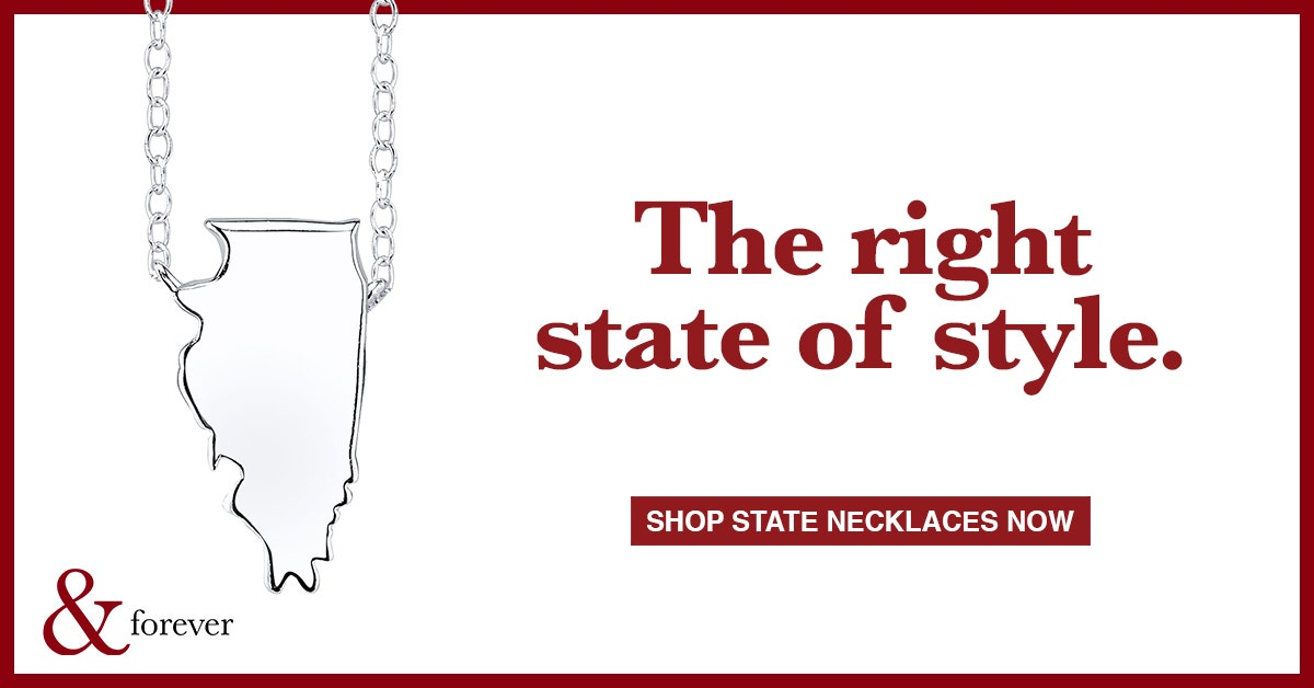 usa state necklaces