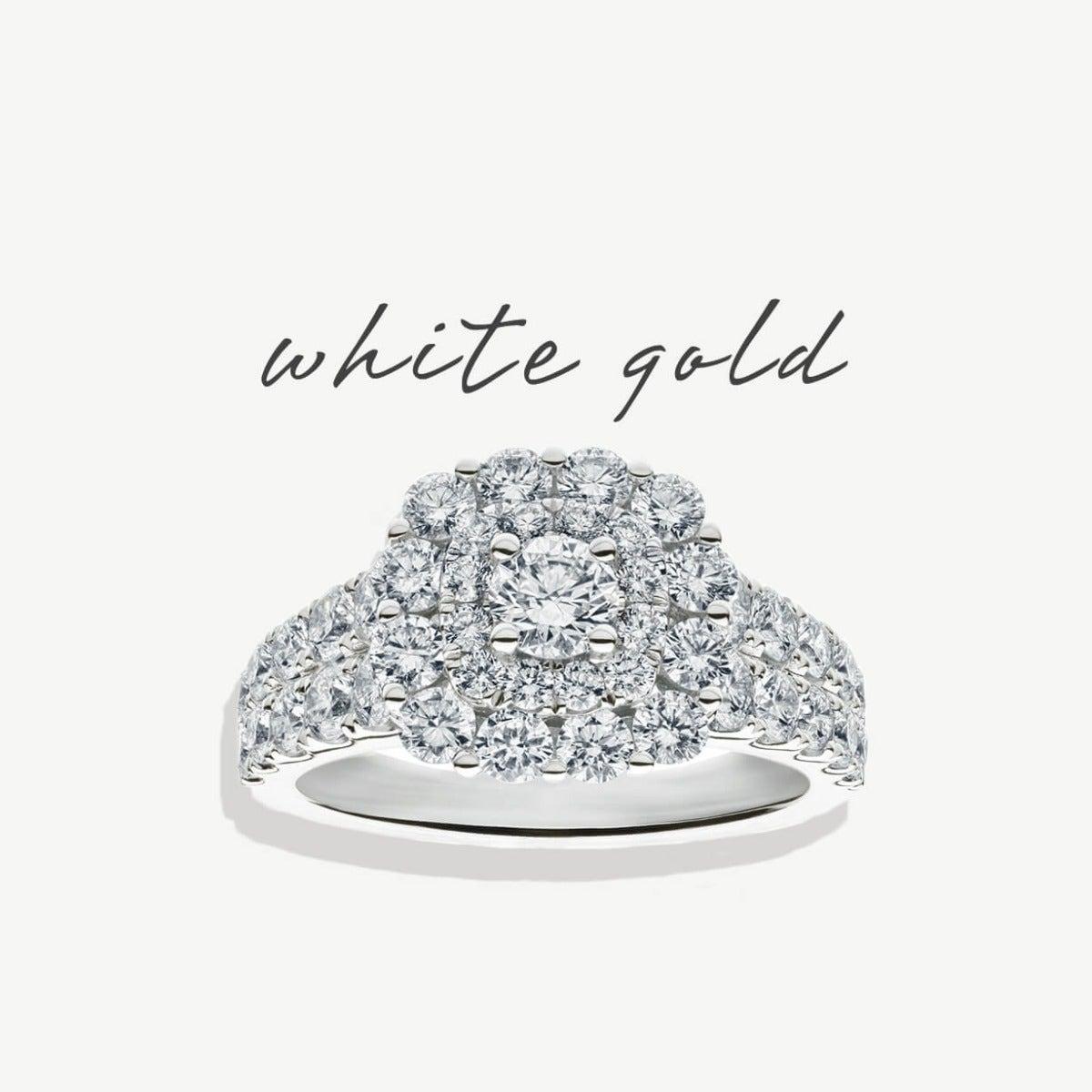 White Gold Metal Styles