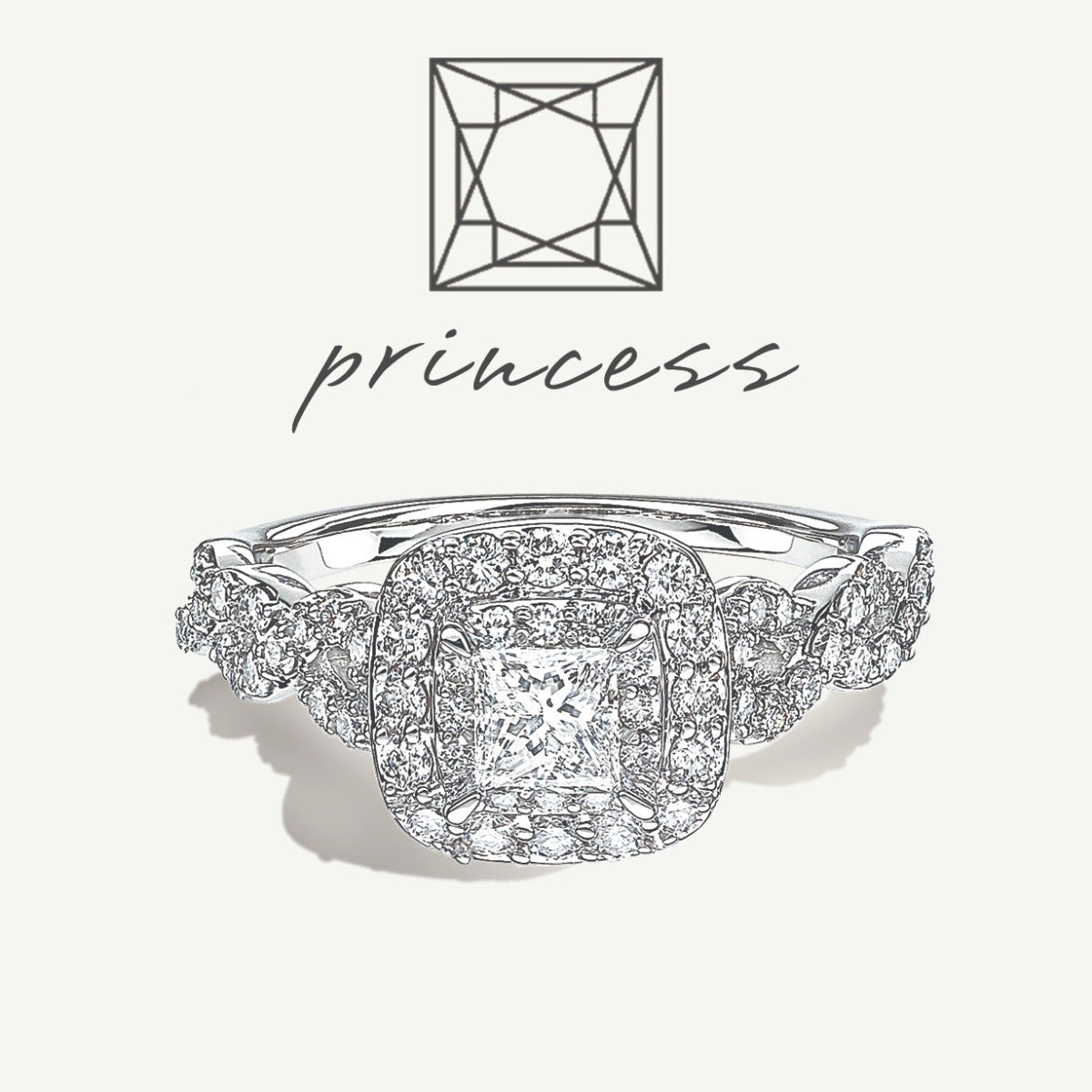 Princess-Cut Engagement Styles