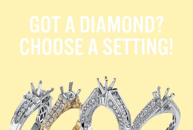 DIAMOND SETTINGS & MOUNTINGS