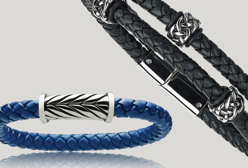 Shop Leather & Chain Bracelets